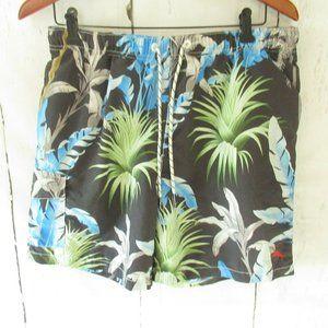 Tommy Bahama Swim Trunks Hawaiian Tropical Floral